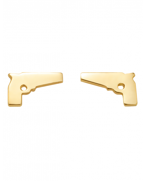 Guns'n'Roses Gold Earrings N° 1