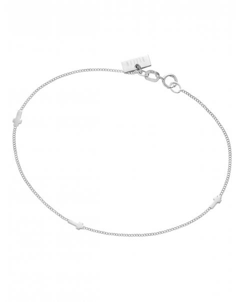Guns'n' Roses Silver Bracelet No1