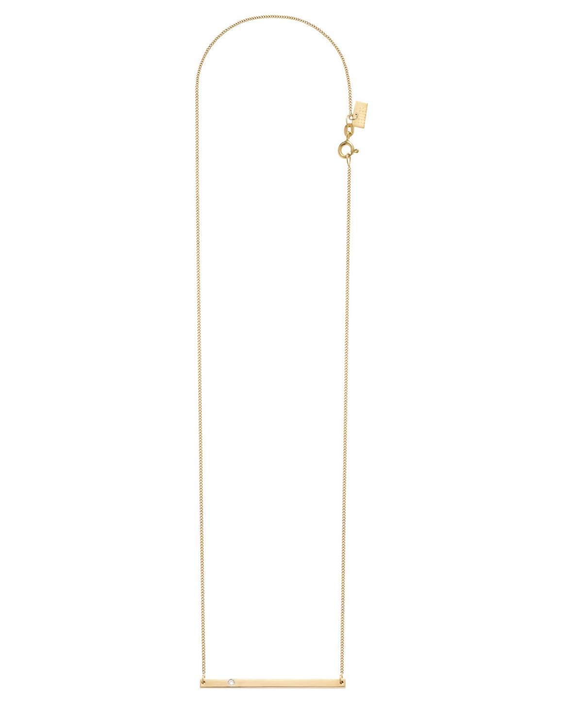 Geometric Złoty Naszyjnik N° 2