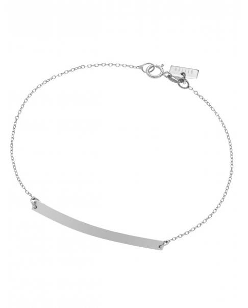 Geometric Silver Bracelet  No2