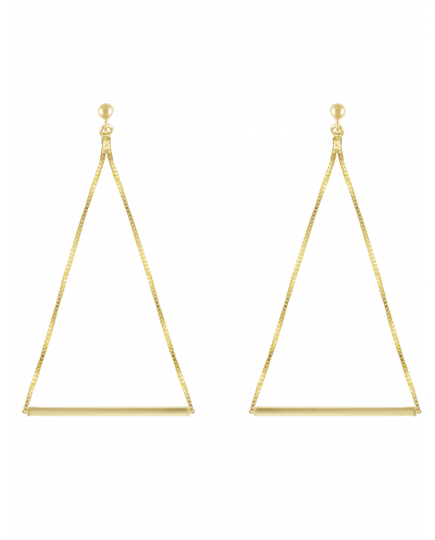 Simple Gold Earrings N°2