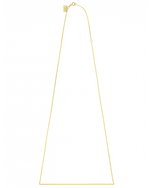Simple Gold Necklace N°4