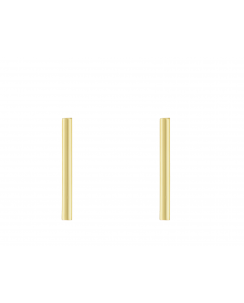 Simple Gold Earrings N°6