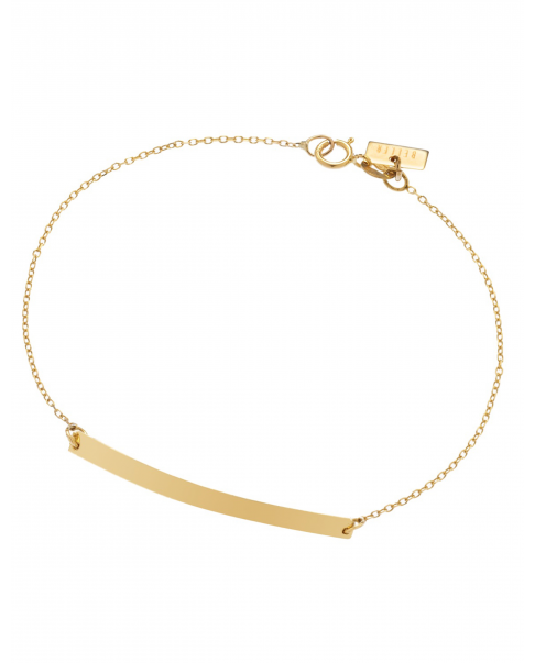 Geometric Gold Bracelet No2