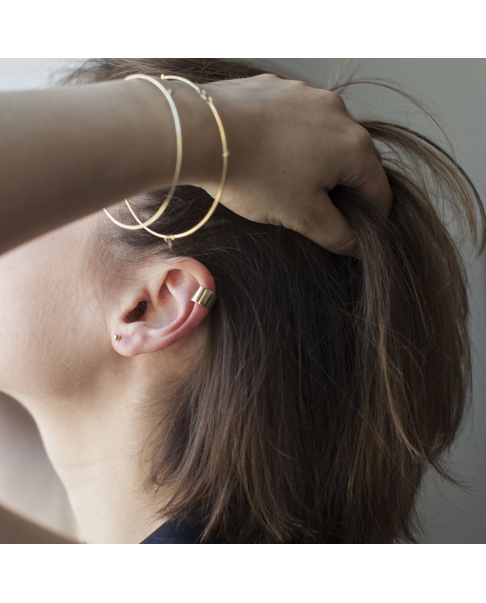 Geometric Gold Earrings N°13