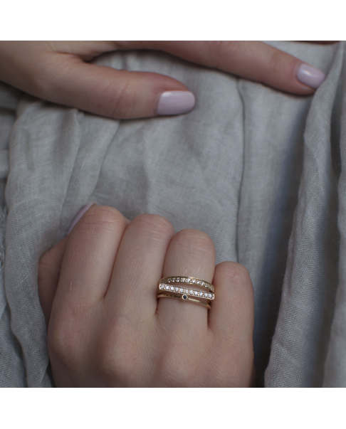 Diamond Gold Ring N°8