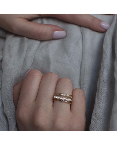 Diamond Złoty Pierścionek N°1