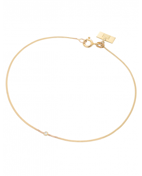 Geometric Gold Bracelet No1