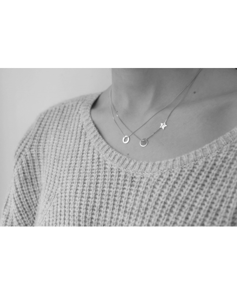 Classic Silver Necklace No13