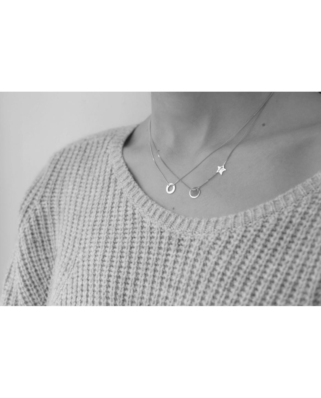 Classic Silver Necklace No13
