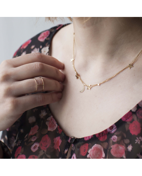 Moonlight Gold Necklace N° 1