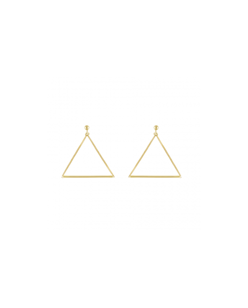 Simple Gold Earrings N°31