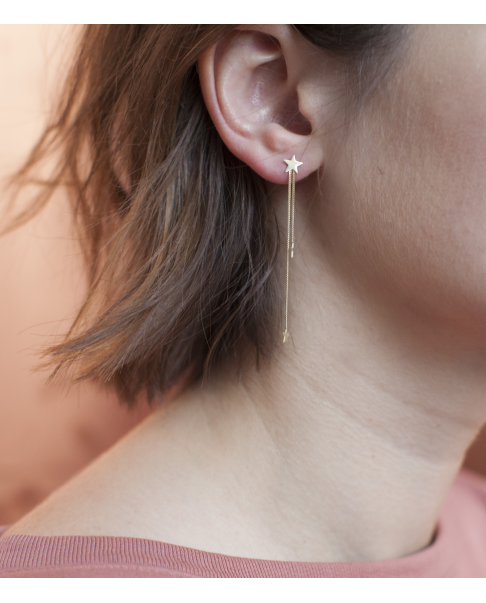 Classic Gold Earrings N°9