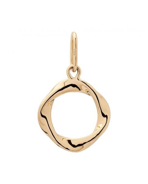 Twirl Gold Pendant N°15