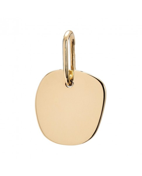 Raw Gold Pendant N°45